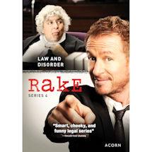 Rake: Series 4 DVD