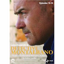 Detective Montalbano Episodes 16-18 DVD