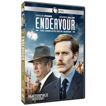 Endeavour: The Complete Sixth Season DVD & Blu-ray