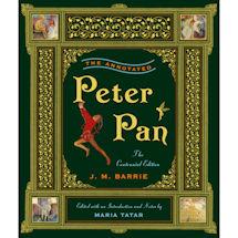 Annotated Peter Pan Hardcover Book