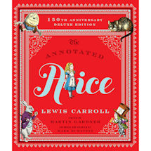 Annotated Alice: 150th Anniversary Deluxe Edition Hardcover Book