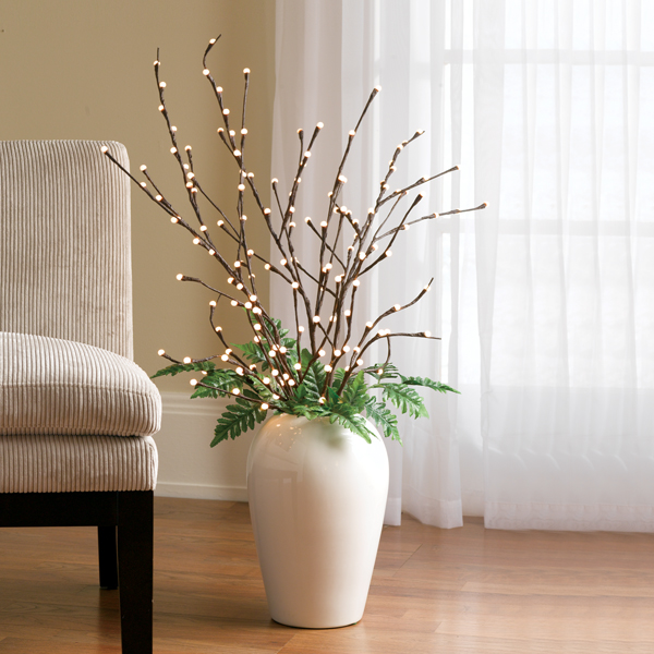 Unique's Shop Lighted Pussy Willow Branches-LG at Sears.com