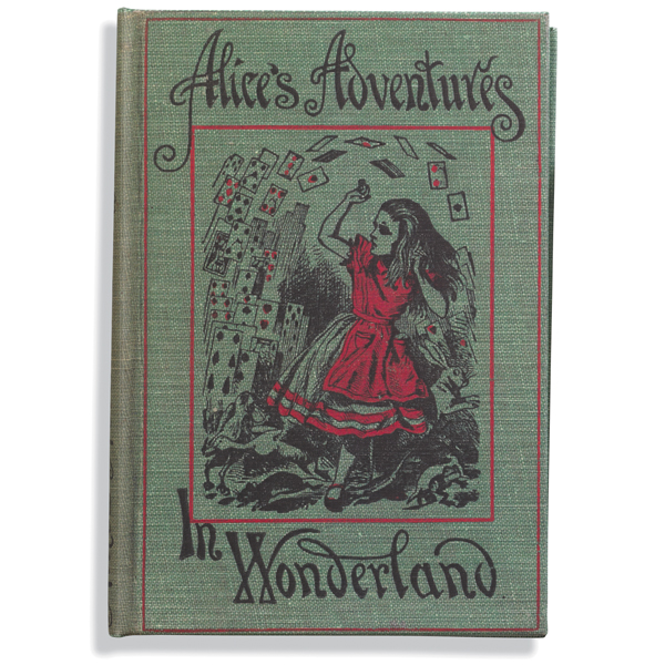 Alice In Wonderland Classic Book Cover ~ Vintage book kindle case alice in wonderland