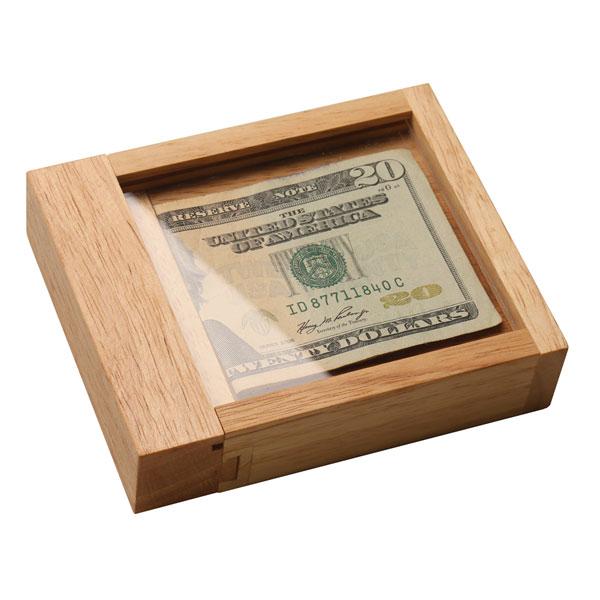 Wood Cash Out Puzzle