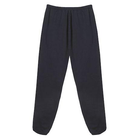 Black Bassett Pants