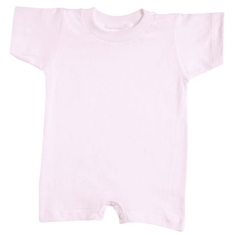 Baby Snapsuit Pink