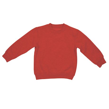 Red Toddler Sweatshirt