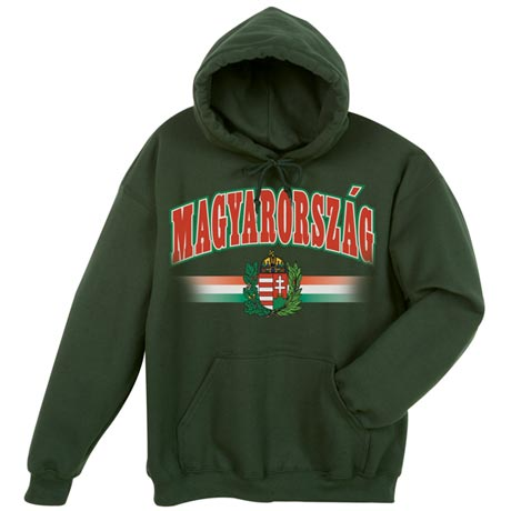 International Hooded Sweatshirt - Hungary