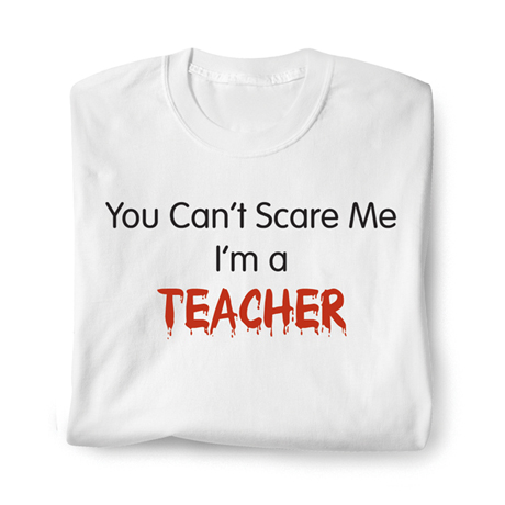 Personalized You Can't Scare Me Shirt