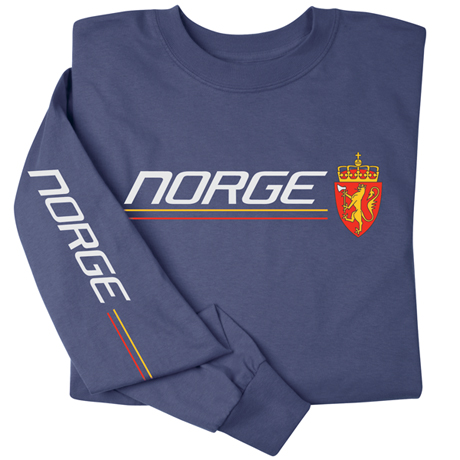 International Pride Long Sleeve Shirt - Norge (Norway)