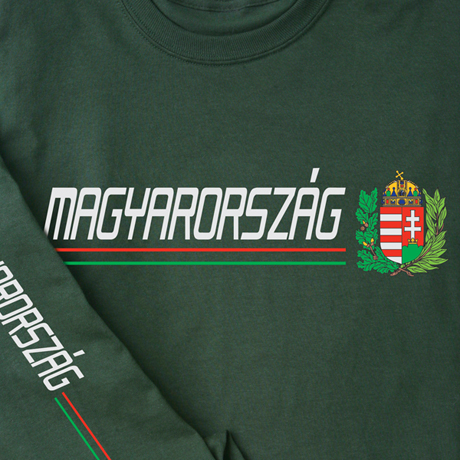 International Pride Long Sleeve Shirt - Magyarorszag (Hungary)