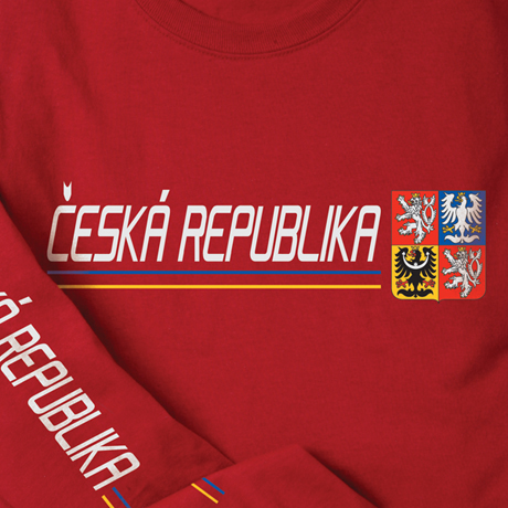 International Pride Long Sleeve Shirt - Ceska Republika (Czech Republic)