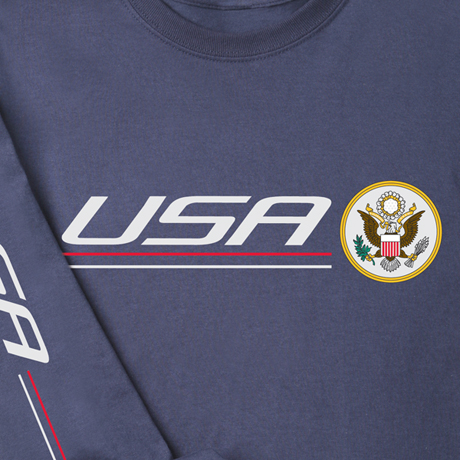 International Pride Long Sleeve Shirt - U.S.A.