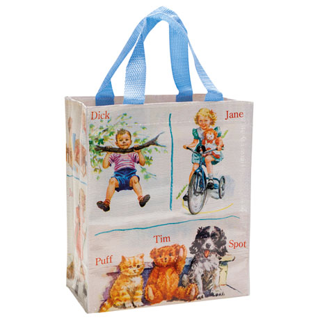 Dick and Jane Handy Tote