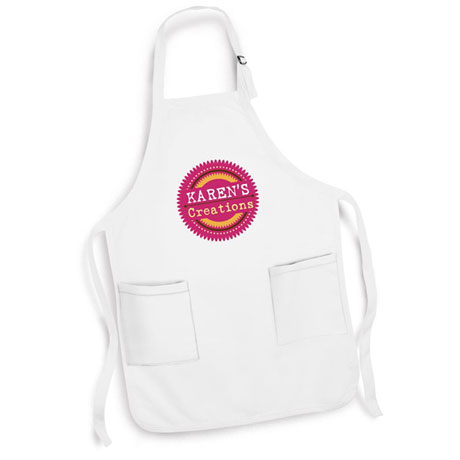 "Personalized ""Your Name"" Creations Creative Baker & Cook Apron"