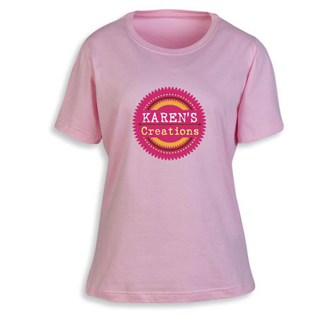"""Personalized """"Your Name"""" Creations Creative Baker & Cook Shirt"""