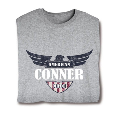 "Personalized ""Your Name"" American Made Shirt"