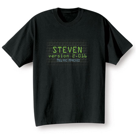 """Personalized """"Your Name""""  Goal Shirt - Version 2.016 New and Improved"""