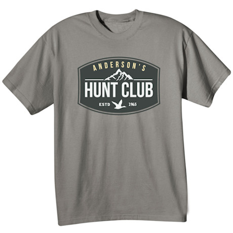 "Personalized ""Your Name"" Hunt Club  T-Shirt"