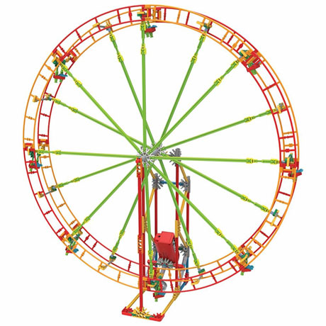 STEM Exploration Amusement Park Building Kits - Ferris Wheel