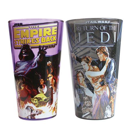 Star Wars Classic Empire Strikes Back Pint Glass Set
