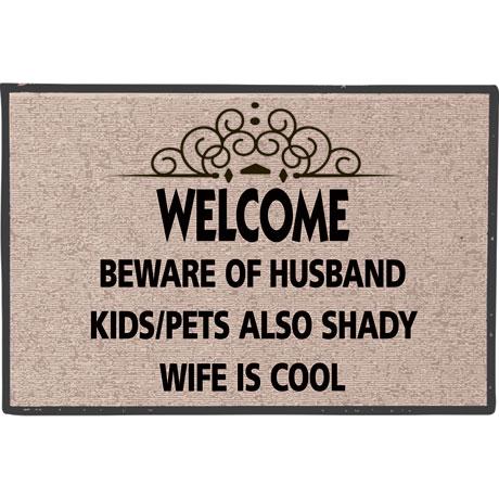 Beware of Husband Doormat