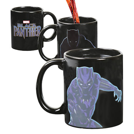 Marvel Black Panther Magic Color Changing with Heat Coffee Mug