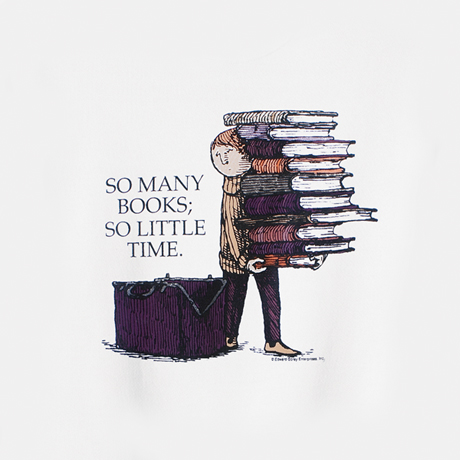 Edward Gorey: So Many Books Sweatshirt