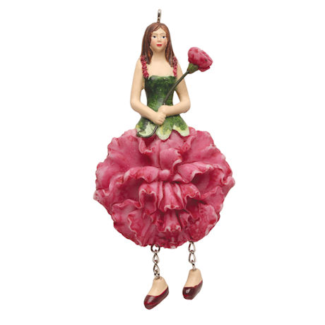 Flower Lady Ornaments