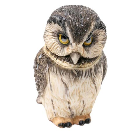 Owl Pot Bellys® Boxes - Boreal Owl