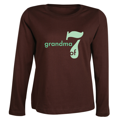Personalized Mommy & Grandma Shirt