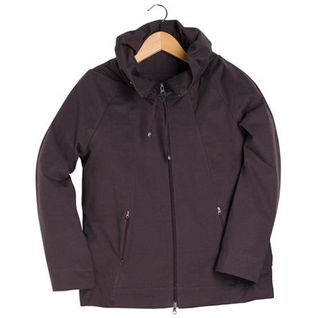 Drawstring Collar Jacket