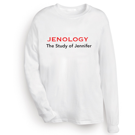 Personalized Nameology Shirt