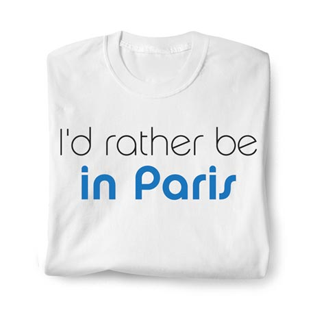 "Personalized ""I'd Rather Be..."" Shirt"