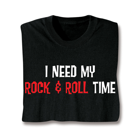 Personalized I Need My Time Shirt