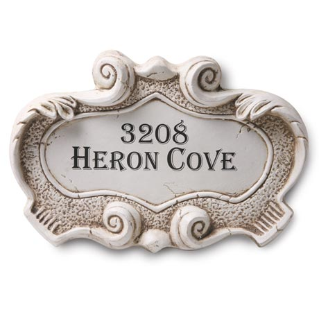 Personalized Fresco Name Or Address Sign