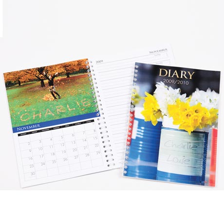 Personalized Calendars - Diary Calendar