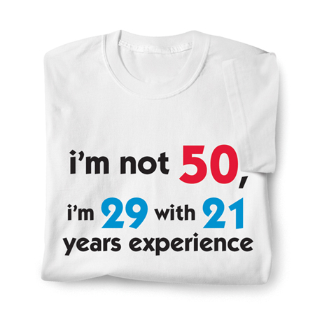 Personalized Experience Shirt
