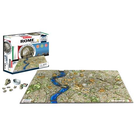 4D Cityscape Puzzle: Rome