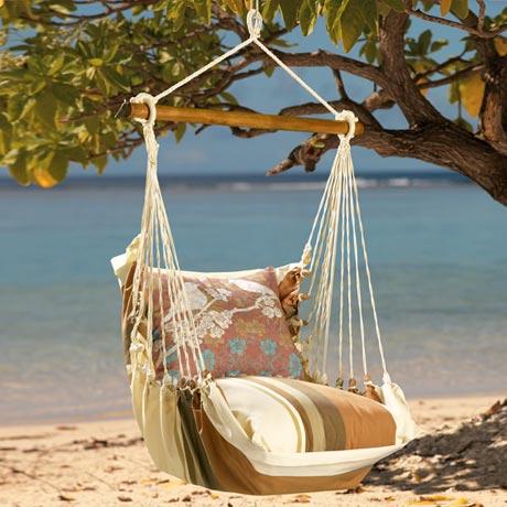 Bird On Branch Swing Chair