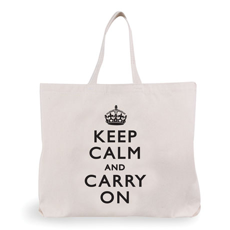 Keep Calm & Carry On Tote