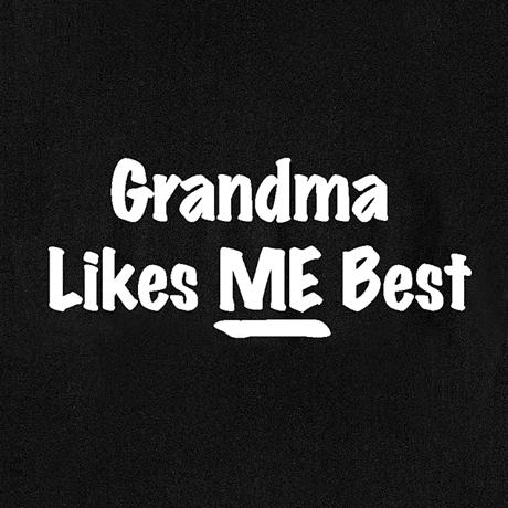 Grandma Likes Me Best Shirt