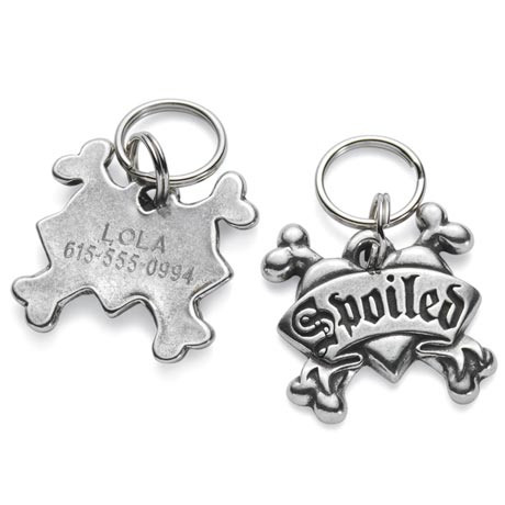 Personalized Pet Tags - Spoiled