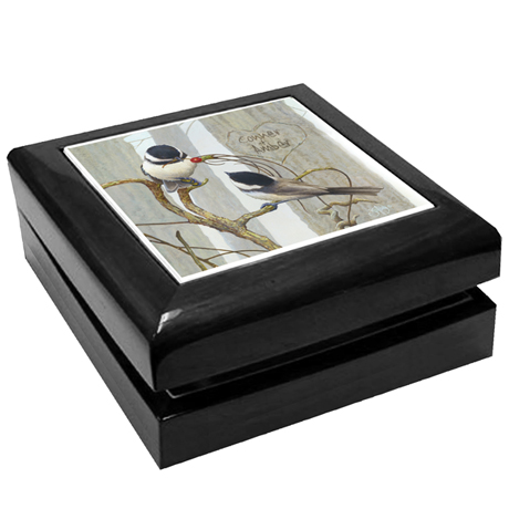 Personalized Love Is In The Air Keepsake Box