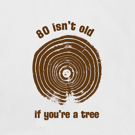 Personalized Age Isn't Old If You're A Tree Shirt