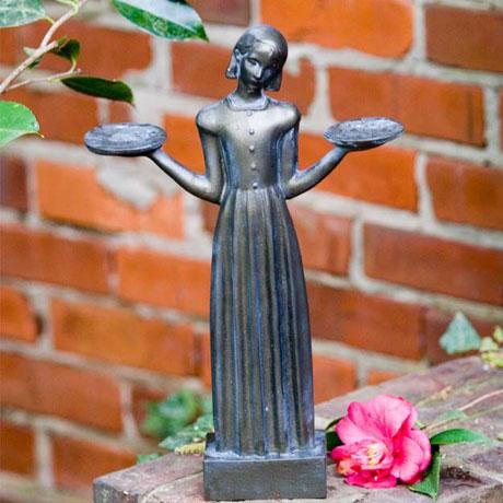 "Savannah's Bird Girl (Small - 15"")"