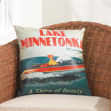 Personalized Indoor/Outdoor Pillow