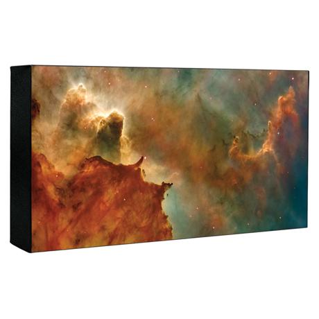 Hubble Image Canvas Print: Carina Nebula