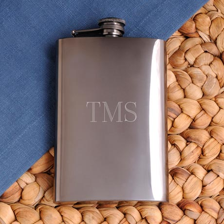 Personalized Spirits Flask