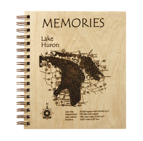 Etched Lake Memories Photo Album